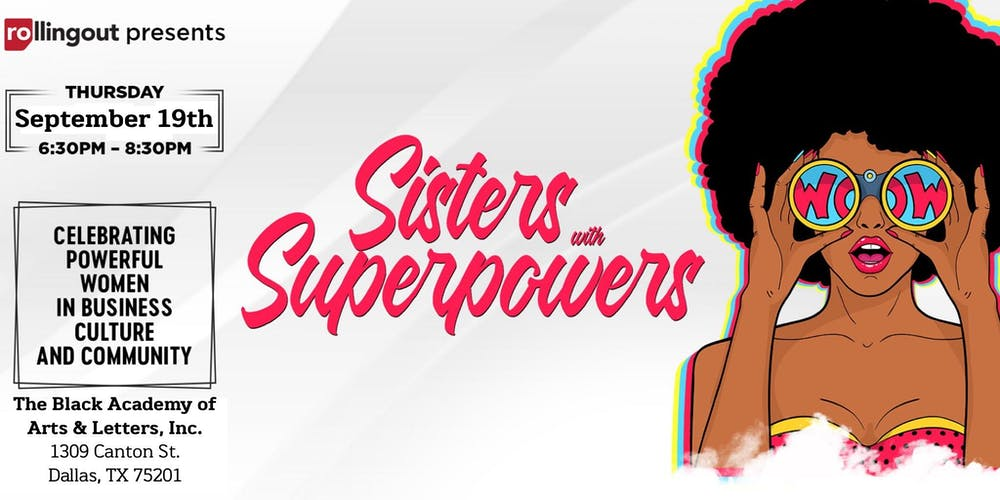 Rolling Out Dallas presents Sisters With Superpowers Award Reception