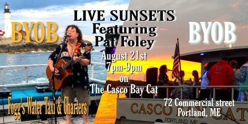 LIVE SUNSETS Feat. Pat Foley!