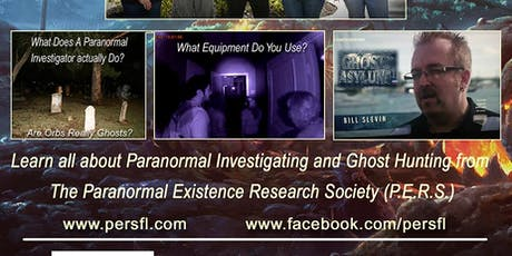 Paranormal Existence Research Society presents an Evening of Paranormal tickets