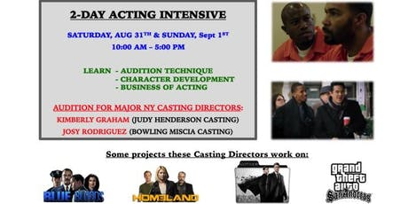Work in TV & FILM: Audition for Major NY Casting Directors tickets