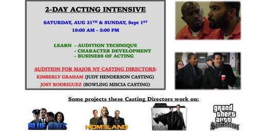 Work in TV & FILM: Audition for Major NY Casting Directors