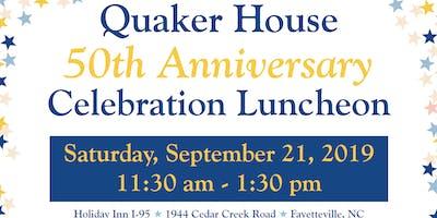 Quaker House's 50th Anniversary Celebration