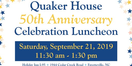 Quaker House's 50th Anniversary Celebration