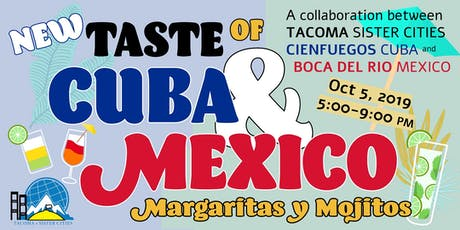 Taste of Cuba and Mexico tickets