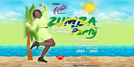 Zumba End Of Summer Party - A Fitness Party For All tickets