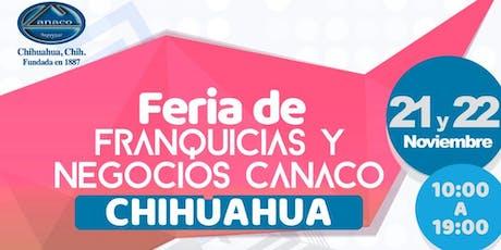 FERIA DE FRANQUICIAS CANACO 2019 entradas