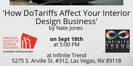 Las Vegas: How Tariffs Affect Your Interior Design Business tickets