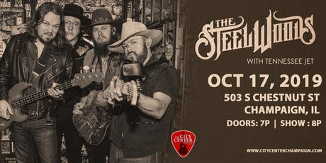 The Steel Woods with Tennessee Jet tickets