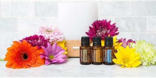 October Natural Solutions (Essential oils Intro) Class