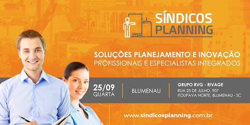 WORKSHOP SÍNDICOS PLANNING 12ª EDIÇÃO - BLUMENAU SC