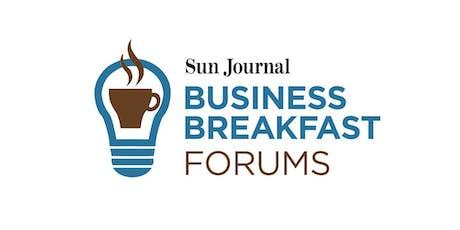 Sun Journal Business Breakfast: The Millennial Hire tickets