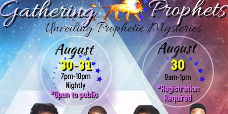 Gathering of Prophets tickets