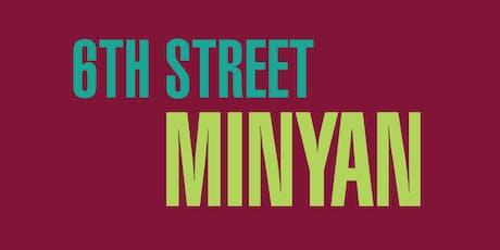 6th Street Minyan tickets