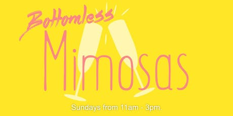 Brunch & Bottomless Mimosas tickets