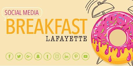 Social Media Breakfast tickets