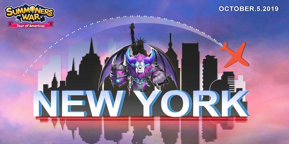 Summoners War: Tour of Americas New York Meetup @ Hard Rock
