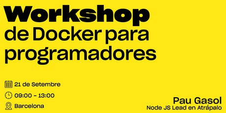 Workshop de Docker para Programadores PHP tickets