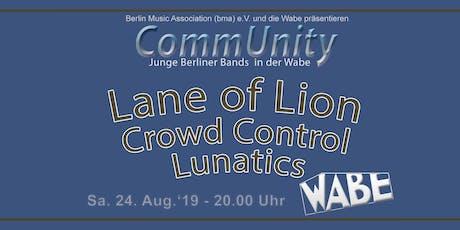 CommUnity - Junge Berliner Bands Tickets