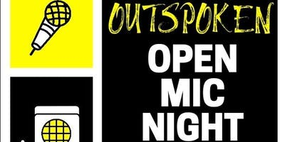 Outspoken: Open Mic Night For Stand Up, Improv, Acoustic Music, Spoken Word, Magic, Rap And FreeStyle