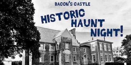Historic Haunt Night at Bacon's Castle tickets