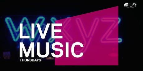 Happy Hour & Live Music at Aloft Brickell tickets
