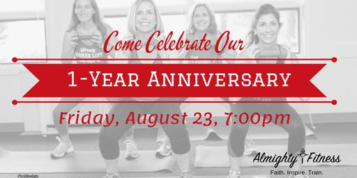 Almighty Fitness One Year Anniversary Celebration Workout