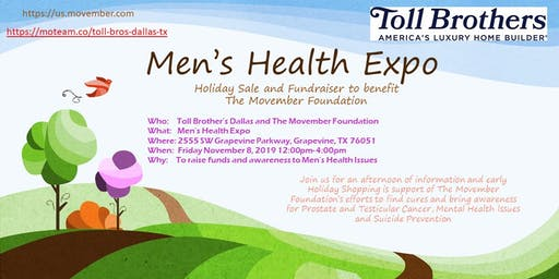 Men's Expo and Holiday Sale Fund Raiser