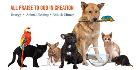 Eucharistic Liturgy, Blessing of Animals and Potluck Dinner tickets