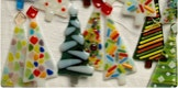 Glass Fusing | Holiday Ornaments