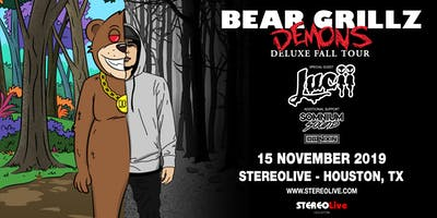 Bear Grillz: Demons Deluxe Fall Tour - Stereo Live Houston
