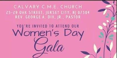 Calvary C.M.E. Church 1st  Annual Women's Day Gala