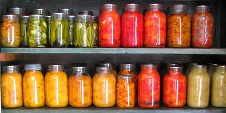 Pickling - Food Preservation Class- Afternoon Class tickets