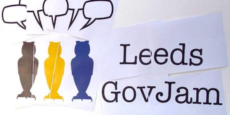 Leeds Gov Jam 2019 tickets