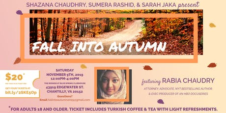 Fall Into Autumn tickets