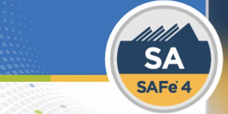 Leading SAFe 4.6 with SAFe Agilist Certification New Jersey (Weekend)   tickets