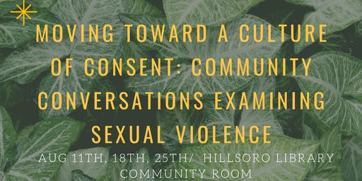 Moving Toward a Culture of Consent