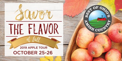 Amish Country Apple Tour - Saturday, Oct. 26