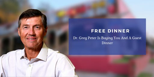 Solving Pain Naturally | FREE Dinner Event with Dr. Greg Peter
