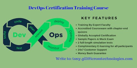 DevOps Certification Training in Helena, MT tickets