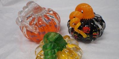 First Friday Hot Glass Experience: Pumpkins