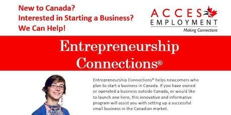 Entrepreneurship Connections - Information Session TORONTO tickets