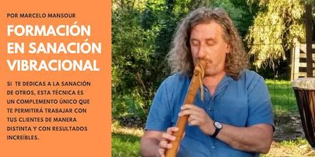 Formación en Sanación Vibracional con Marcelo Mansour entradas