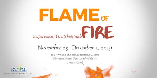 Flame Of Fire - Experience The Shekinah