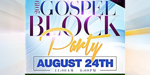 BROOKLYN'S BIGGEST GOSPEL BLOCK PARTY
