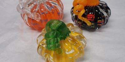 Second Sunday Hot Glass Experience: Pumpkins