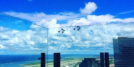 Air Show Watch Party at Bar 32 at the Hilton Cleveland Downtown