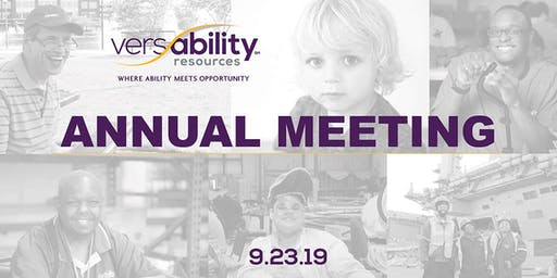 VersAbility Resources' Annual Meeting