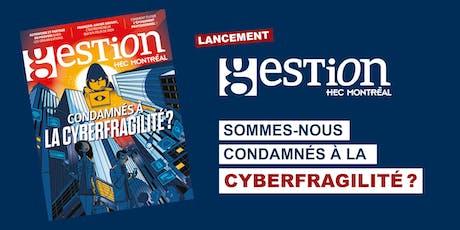 Lancement de la revue Gestion HEC Montréal – numéro d'automne 2019 billets