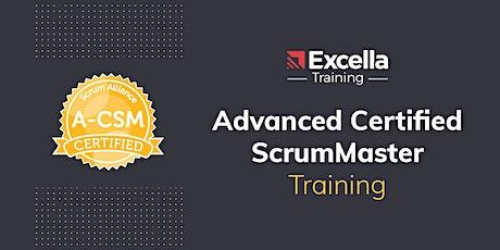 Advanced Certified ScrumMaster (A-CSM) Training in Arlington, VA tickets