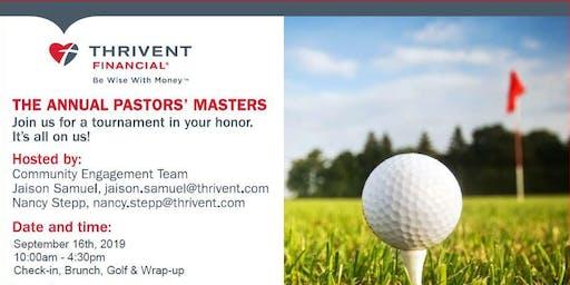 Pastors' Masters - A Pastors Appreciation Golf Event
